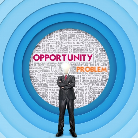 Business word cloud for business concept, Opportunity Stock Photo - 16394869