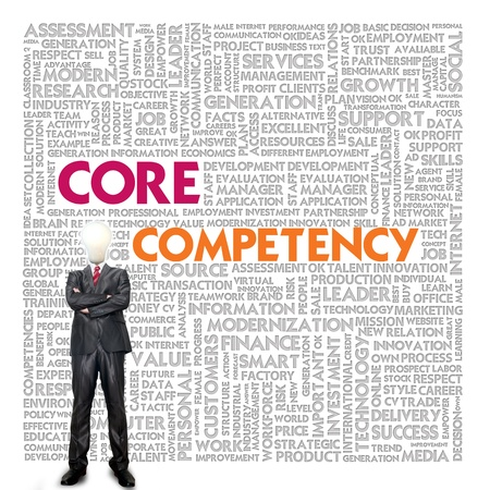 competency: Business word cloud for business and finance concept, Core Competency
