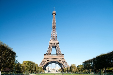 Autumn in Paris - Eiffel tower photo