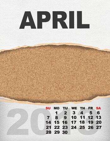 Vertical calendar 2013 year Stock Photo - 17049140
