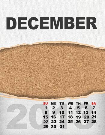 Vertical calendar 2013 year Stock Photo - 17049141
