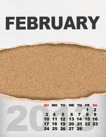 Vertical calendar 2013 year Stock Photo - 17049139