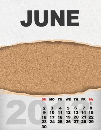 Vertical calendar 2013 year Stock Photo - 17049137