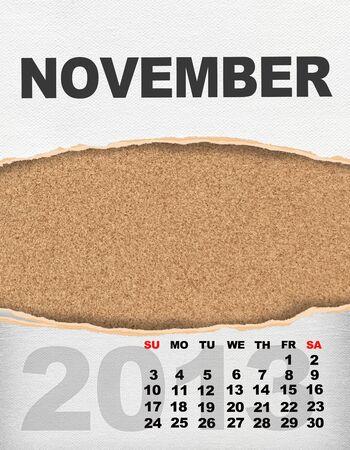 Vertical calendar 2013 year Stock Photo - 17049138