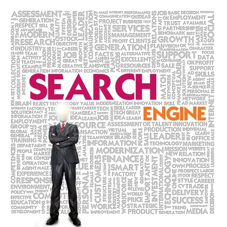Business word cloud for business and finance concept, Search Engine Stock Photo - 17049168