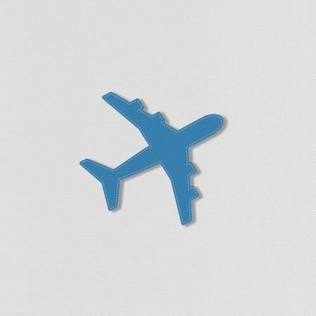 ravel: Airplane ravel with stitch style