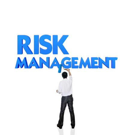 credit risk: Business word for business and finance concept, Risk management