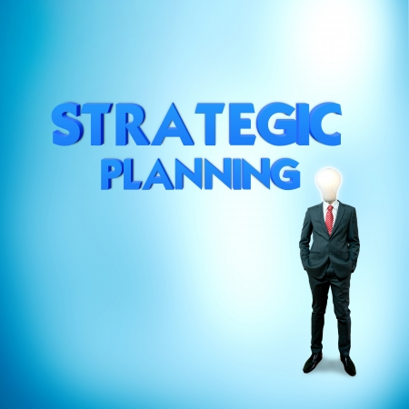 stratgy: Business word for business and finance concept, Strategic planning
