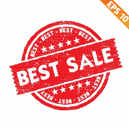 Stamp sticker best price collection  - Vector illustration Stock Vector - 20848043