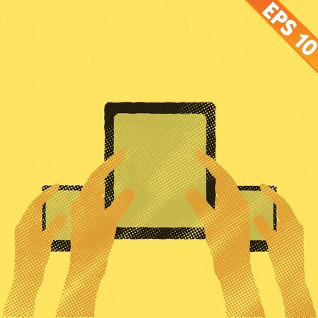 owning: Bring Your Own Device concept - Vector illustration