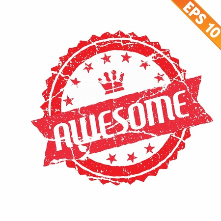Excellent rubber stamp - Vector illustration Vector Illustration