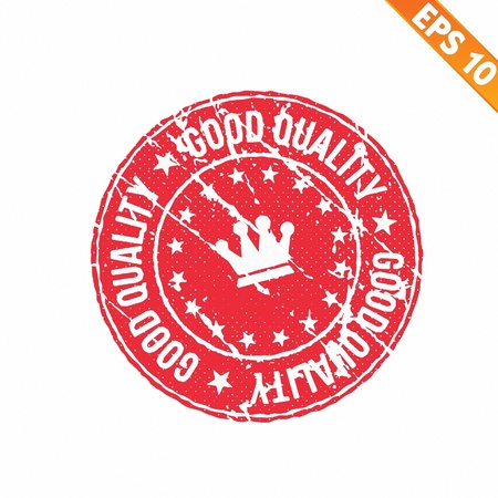 Stamp sticker Quality tag collection  - Vector illustration Stock Vector - 21018951