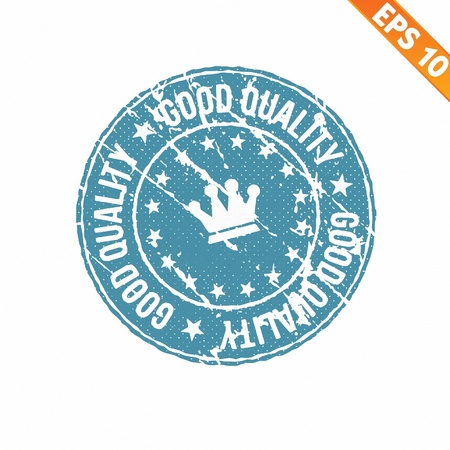 Stamp sticker Quality tag collection  - Vector illustration  Vector