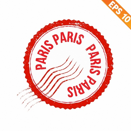 Rubber stamp country - Vector illustration - EPS10  Vector