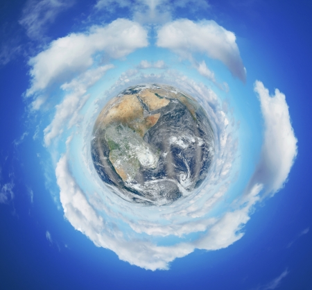 Image of planet Earth - Elements of this image furnished by NASA photo