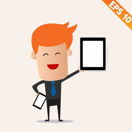 bring: Bring Your Own Device concept - Vector illustration