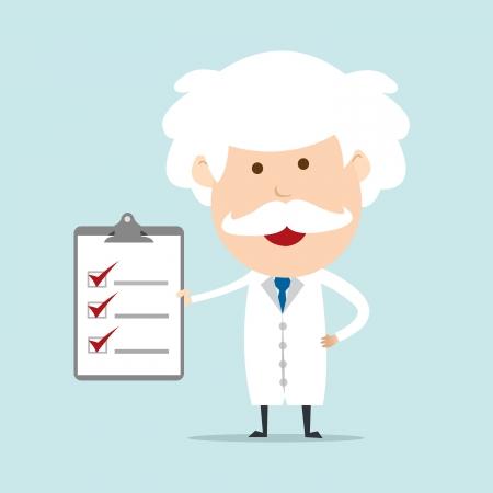 researcher: Professor show checklist
