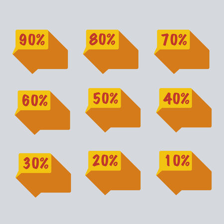sell off: Sale percent sticker price tag