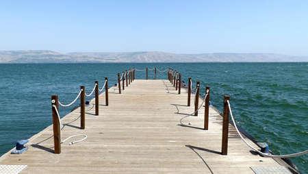 Sea of ??Galilee view in Israel