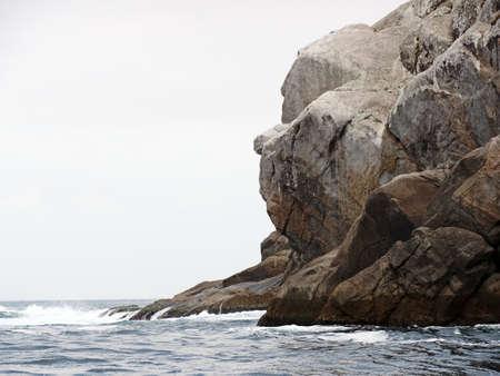 Gorilla's face rock in Arraial do Cabo, Rio de Janeiro