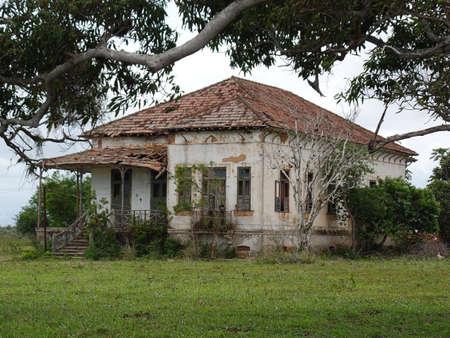 Old house in Rio de Janeiro