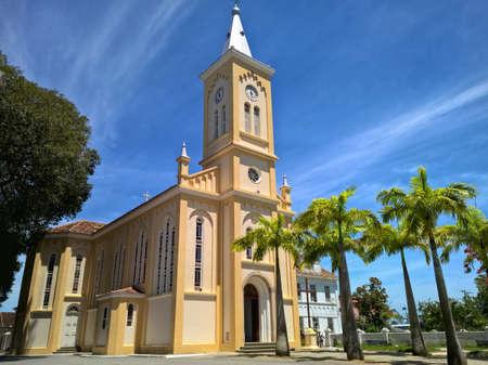 Historical church in Quissama city, Rio de Janeiro Brazil Stock Photo