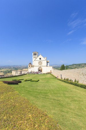 jezus: Church in Assisi in Italy