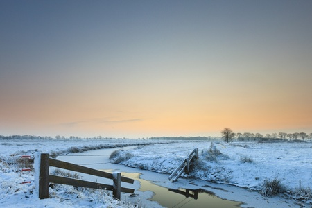 Winter landscape with snow Stock Photo - 8826220