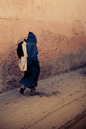 marrakesh: Strade di Marrakech in Marocco Archivio Fotografico