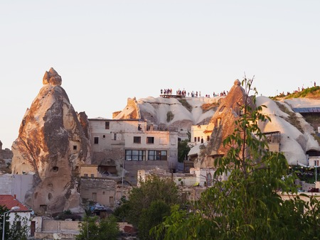 goreme: Point view of sunset landscape at Cappadocia, Turkey, Goreme
