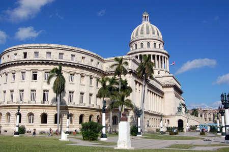 capitolio: View of the home of Cuba s legislature, the Capitolio in Havana