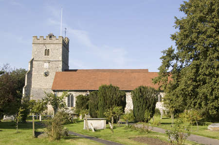 spencer: The historic Holy Trinity church in the village of Cookham, Berkshire   Famously painted by local artist Stanley Spencer
