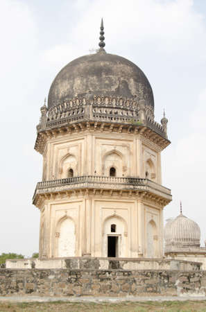 golconda: Tomb of  Jamsheed Quli Qutub Shah, part of the Qutb Shahi tombs in Golconda, Hyderabad   Built during the Mughal Empire the tombs are expected to become a World Heritage site in the near future