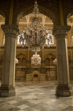 Khilwat Mubarak, the site of the coronation of VIII Nizam of Hyderabad   Durbars and other events were held in this historic palace