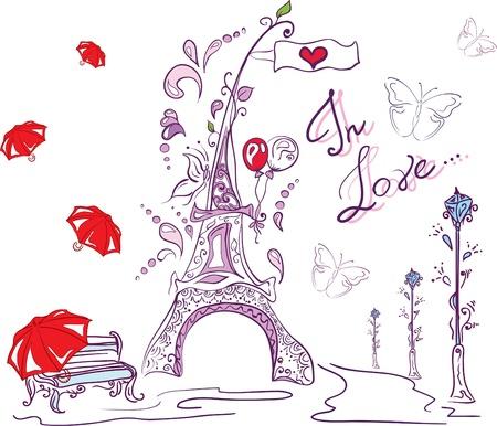 baloon: autumn romantic paris