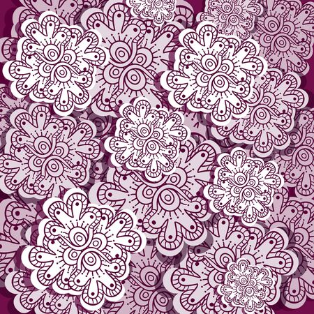 lacy: indian style floral background
