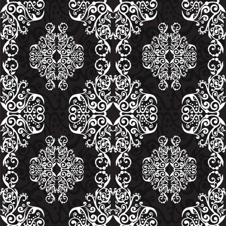 ornamentation: ornate lacy background Illustration