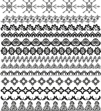 mendi: ornamental decor for design with ethnic elements