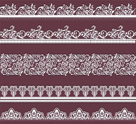 white lace: white lace
