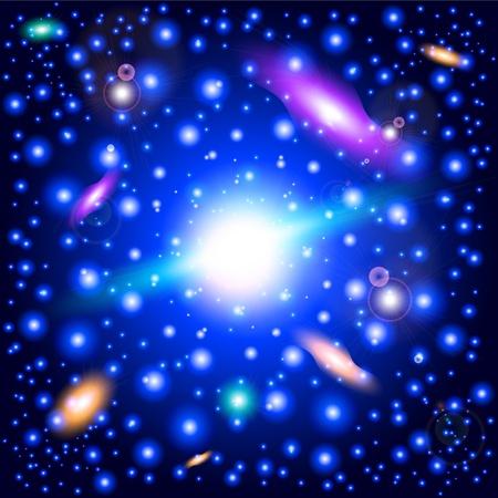 l'espace lointain Vecteurs