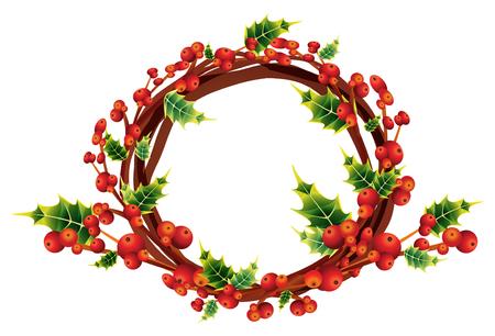 isolar: coroa de azevinho, decora