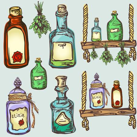 elixir: alquimia artesanía magia, juego de pociones y elixires