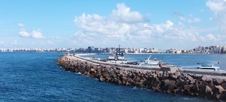 Seashore in Alexandria  photo