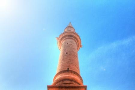 minaret: A Minaret to Heaven  Stock Photo