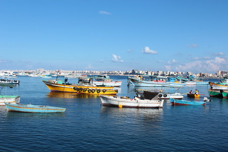 Fishing Boats in Alexandria