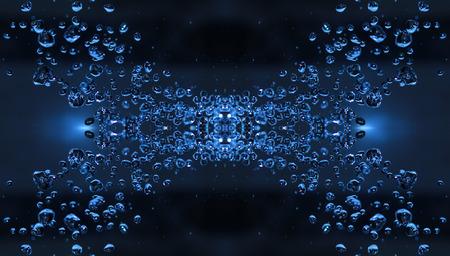 Falling Droplets  photo