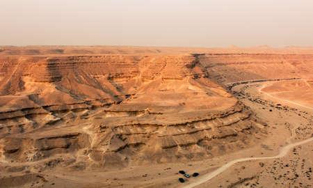 parch: The Desert Degla canyon Valley