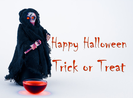 trick: Happy Halloween Trick or Treat