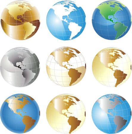 globe set