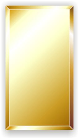 gold metal: gold bar Stock Photo